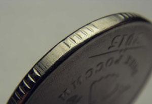 Гурт монеты 5 рублей 2015 года