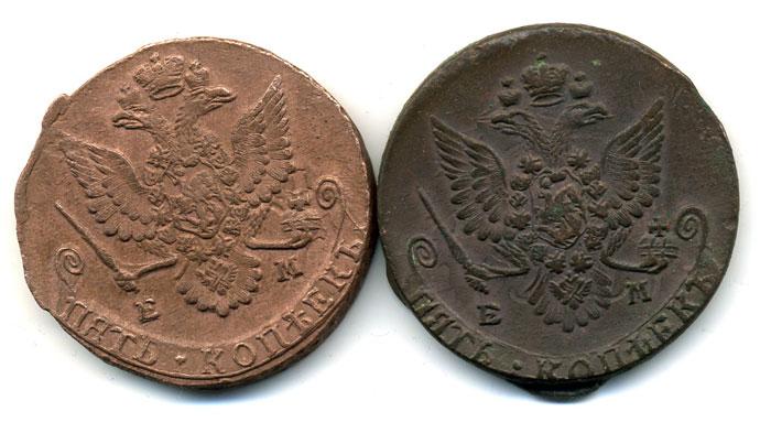 Преображение монеты с помощью патины