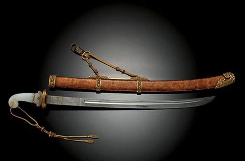 Сабля императора из династии Цин