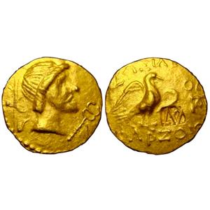 Монета золотой статер царя Фарзоя: внешний вид и актуальная цена