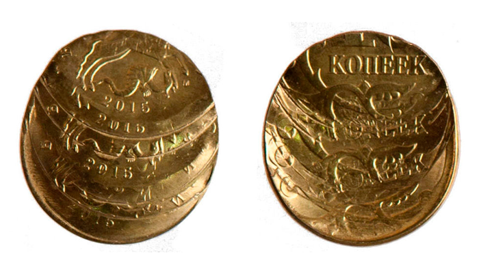 Множественный удар монеты