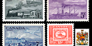 Почтовые марки Канады: история канадской филателистики