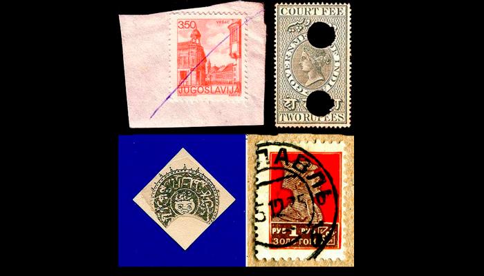 Способы гашения почтовой марки