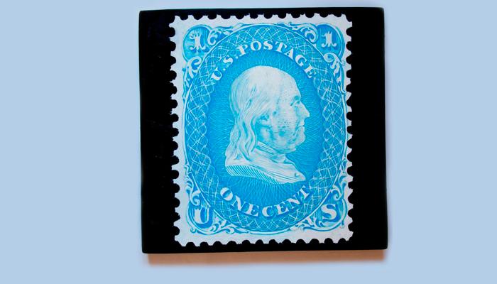 Почтовая марка из США Святой Грааль