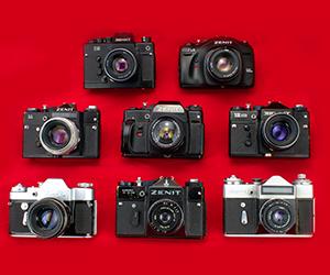 Фотоаппараты Зенит: история советского бренда фототехники