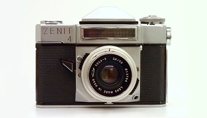 Советский фотоаппарат «Зенит 4»
