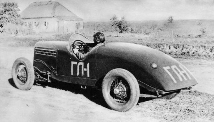 Первый советский гоночный автомобиль ГАЗ-А