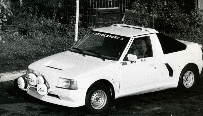 Раллийный автомобиль «Москвич 2141 КР»