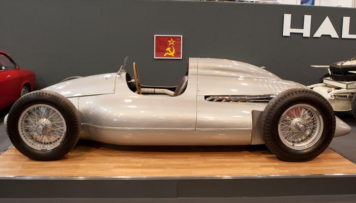 Гоночный советский болид «Сокол-650»