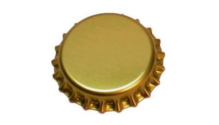Пробка от пивной бутылки типа «Pry-off»