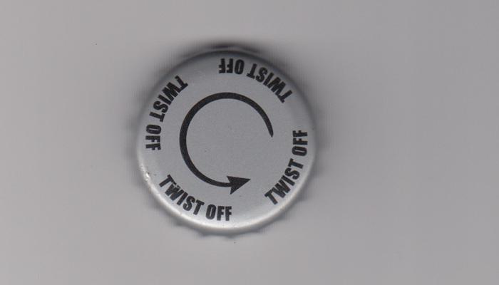 Пробка от стеклянной пивной бутылки типа «Twist-off»
