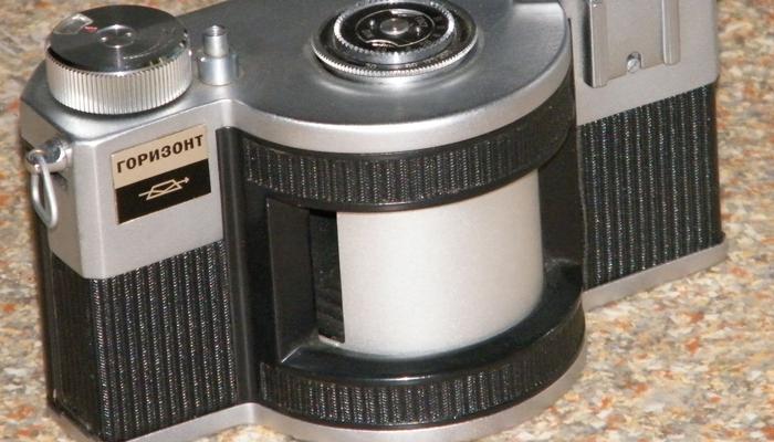 Советский фотоаппарат «Горизонт»