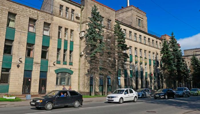 Здание оптико-механического объединения