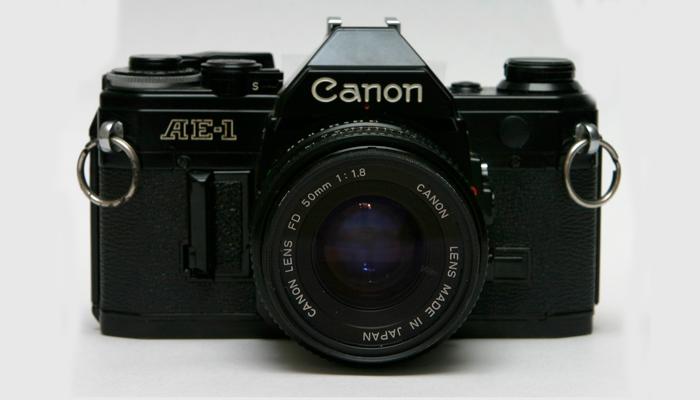 Фотоаппарат с электронной начинкой Canon AE-1