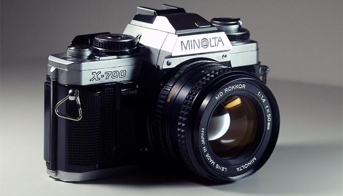 Фотоаппарат зеркального типа Minolta X-700