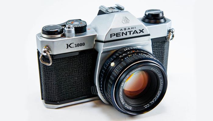 Надежный пленочный фотоаппарат Pentax K1000