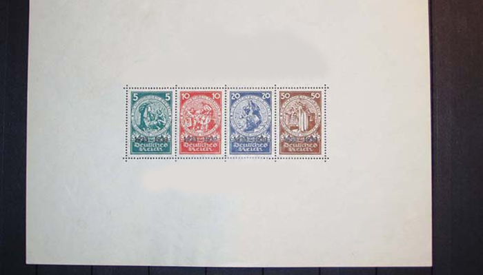 Почтовая марка «10-я годовщина Пивного Путча»