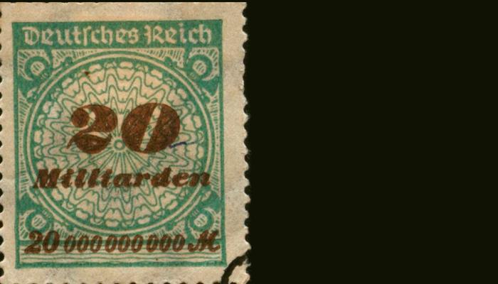 Гиперинфляционная марка Германии