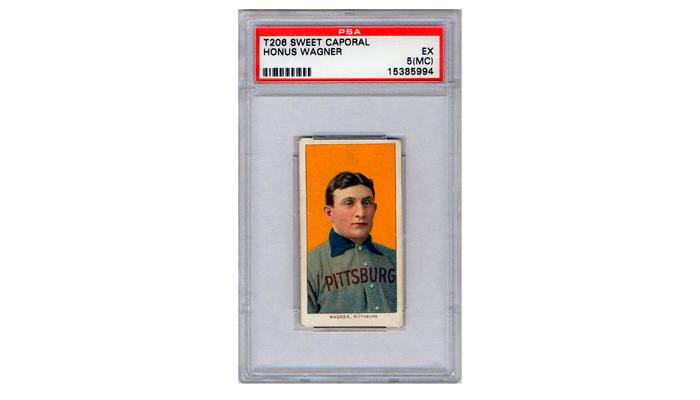 Бейсбольная карточка с изображением лучшего шорт-стопа всех времен и народов Хонуса Вагнера