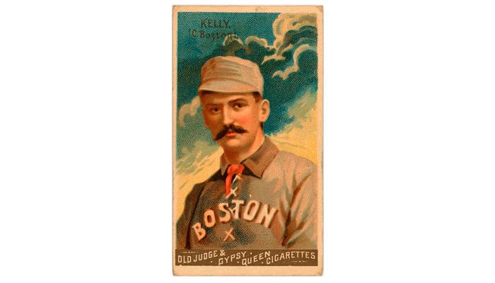 Сигаретная карточка «Goodwin Chempions» 1888 года