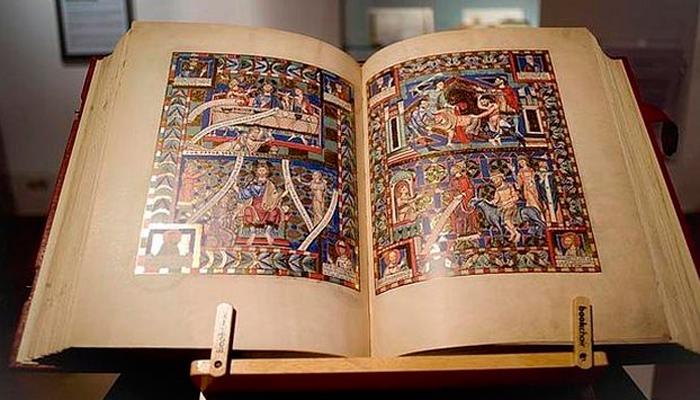 «Евангелие» Генриха Льва, Ордена святого Бенедикта