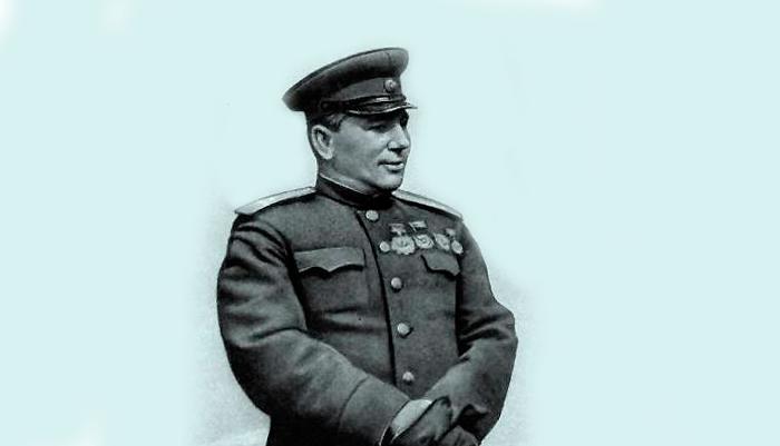 Генерал Галанин И. В. который был впервые награжден Орденом Кутузова первой степени
