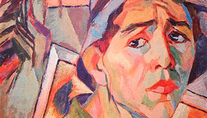 Автопортрет художника Александра Дайнека который занимался направлением соцреализм