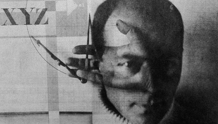 Автопортрет художника-авангардиста Эль Лисицкого