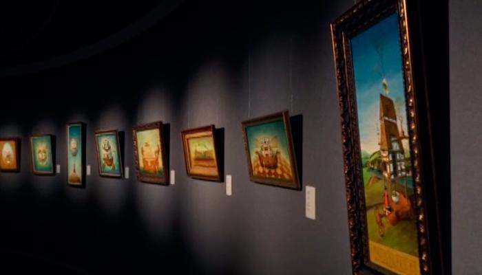 Выставка картин Алексея Ежова относящихся к направлению сюрреализм