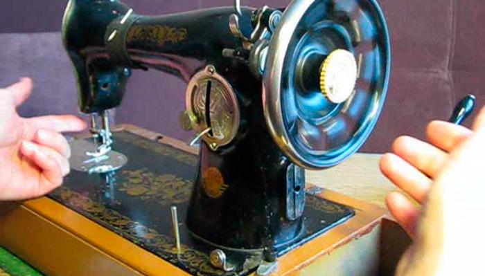 Осмотр швейной машинки при покупке