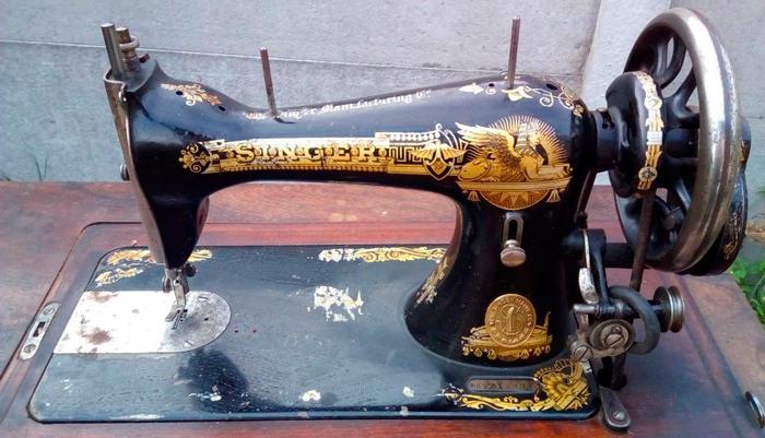 Швейная машинка советского производства «Зингер»