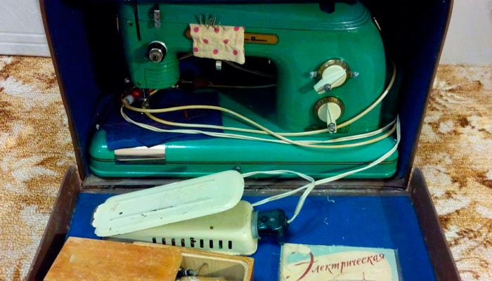 Швейная машинка «Тула»