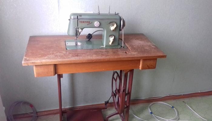 Швейная машинка из ГДР «Веритас»