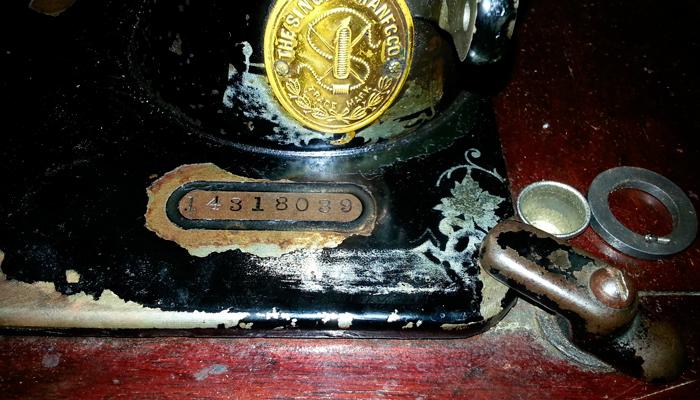 Номер швейной машинки «Зингер» начинающийся с единицы за который якобы дают миллион долларов