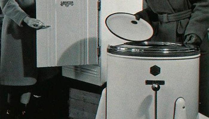 Продажа первых стиральных машин в СССР