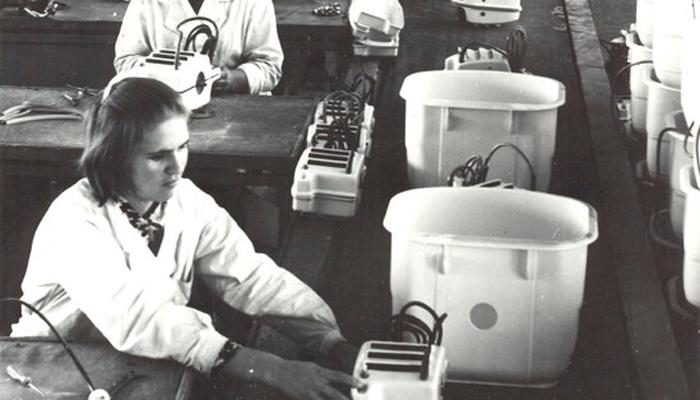 Производство стиральной машинки «Малютка»